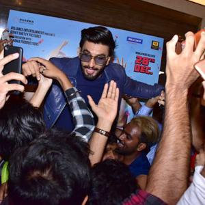 PIX: Ranveer brings Simmba to his fans!