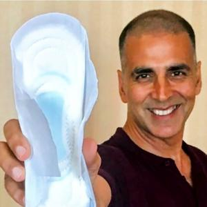 Take the #PadMan challenge: Post your selfie!