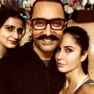 What are 'thugs' Aamir, Katrina, Fatima up to?