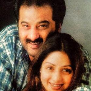 Sridevi and Boney Kapoor's love story in pictures