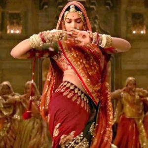 Deepika's tummy, geography may delay Padmaavat