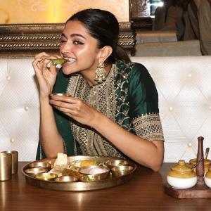 Will you try Deepika paratha thaali for Rs 600?