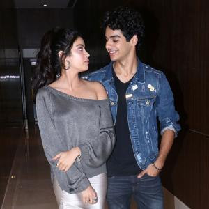 Something brewing between Ishaan, Janhvi?