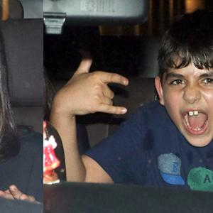 PIX: AbRam, Karisma's kids attend birthday bash