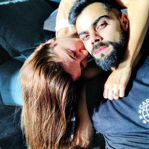 How Anushka-Virat spent their Sunday
