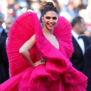 Cannes 2018: Like Deepika's pink fiery look?