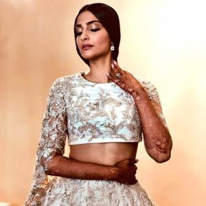 Cannes 2018: Sonam goes Indian on the red carpet
