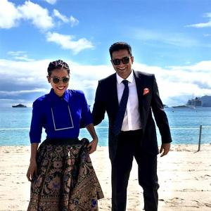 Cannes 2018: Tillotama, Vivek promote Sir