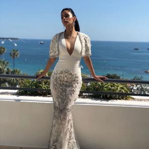 Cannes 2018: Mallika, a vision in white