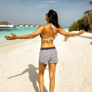 Shilpa Shetty's FUN Maldives holiday