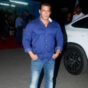 What was Salman doing with Katrina, Isabelle?