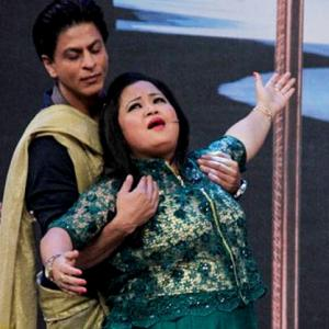 Why are Bharti and SRK doing a Kate and Leo?