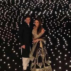 Stars and stars at SRK's Diwali party