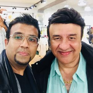 What was Anu Malik doing in London?