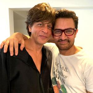 Why Aamir believes SRK is the real star