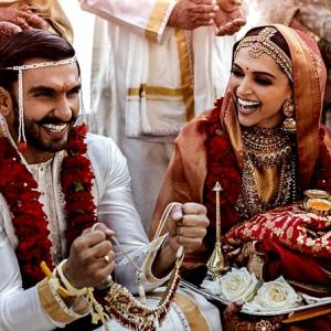 FIRST PICTURES: Deepika weds Ranveer