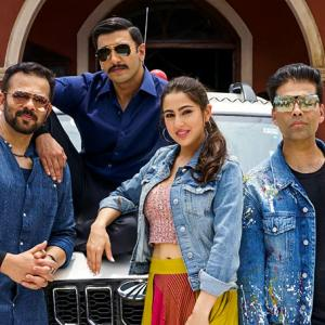 Simmba: All the action BEHIND THE SCENES