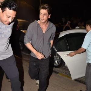 PIX: Shah Rukh parties with Zoya Akhtar