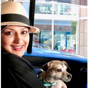 PIX: Sonali Bendre chills out with Diana Chopra