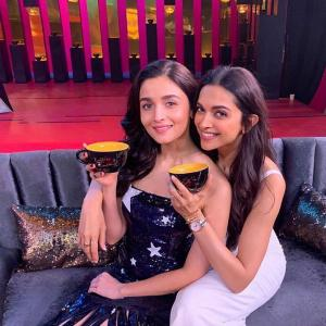 Koffee With Karan 6: Deepika, Alia have no drama!