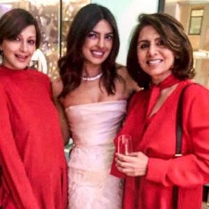Look who attended Priyanka's bridal shower!
