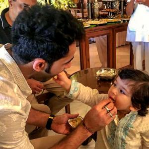 PIX: Taimur's Day Out!