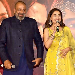 Why is Madhuri smiling so much?