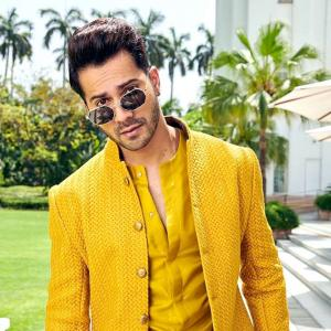 Varun's all set to play a coolie