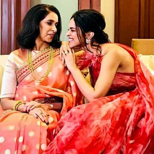 CAPTION THIS: What's Deepika's mom telling her?
