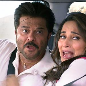 How many films have Anil-Madhuri done together?