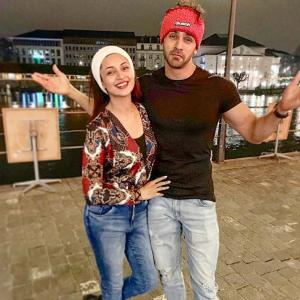 PIX: Telly stars Divyanka- Vivek have Swiss fun