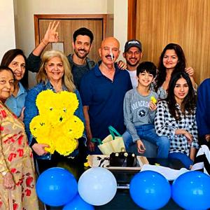 Hrithik's special birthday celebration with dad