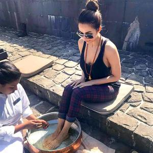 What happens when Malaika goes on a spa holiday?