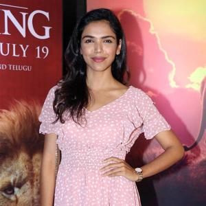 PIX: Shriya, Srishty, Riddhi watch Lion King