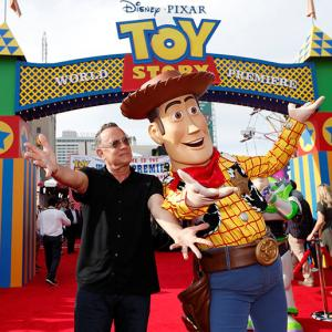 Tom Hanks is Woody, all over again!