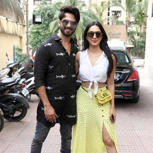 What are Shahid, Kiara, Shriya up to?