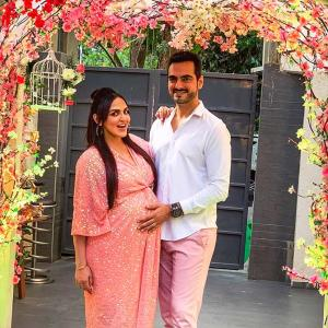 Esha Deol's baby shower part 2!