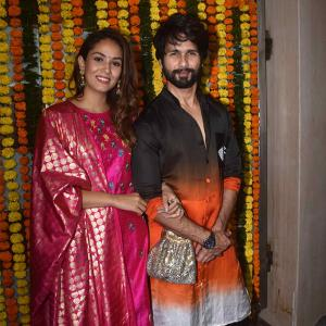 PIX: Shahid-Mira party with Ekta Kapoor