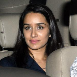 PIX: Shraddha watches Chhichhore with Sonakshi
