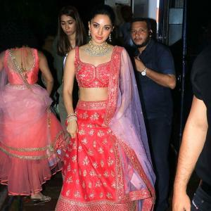 How did Kiara Advani spend her weekend?
