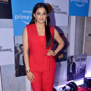 PIX: Priyamani gets ready for The Family Man