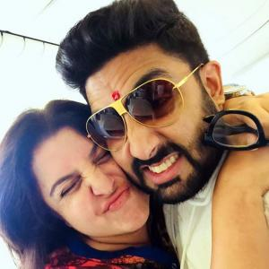 When Abhishek Bachchan surprised Farah Khan