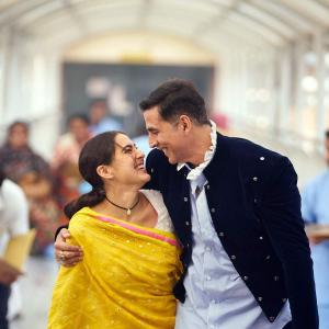 Akshay, 53, pairs up with Sara Ali Khan, 25