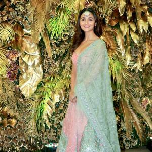 PIX: Alia Bhatt attends Ranbir's cousin's wedding