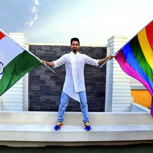 Why Ayushmann decided to play a gay man