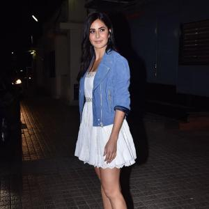 Video: Katrina watches Bhoot with Vicky Kaushal