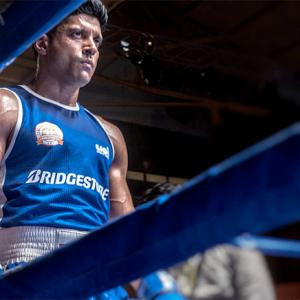 First Look: Farhan Akhtar in Toofan