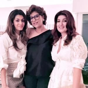 PIX: Tahira parties with Bhumi, Katrina