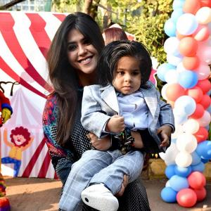 PIX: INSIDE Ekta Kapoor's son's birthday bash