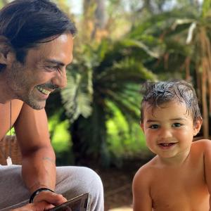 Meet Arjun Rampal's ADORABLE son